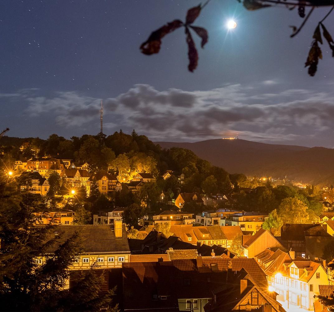 wernigerode stadtfuehrung bei nacht