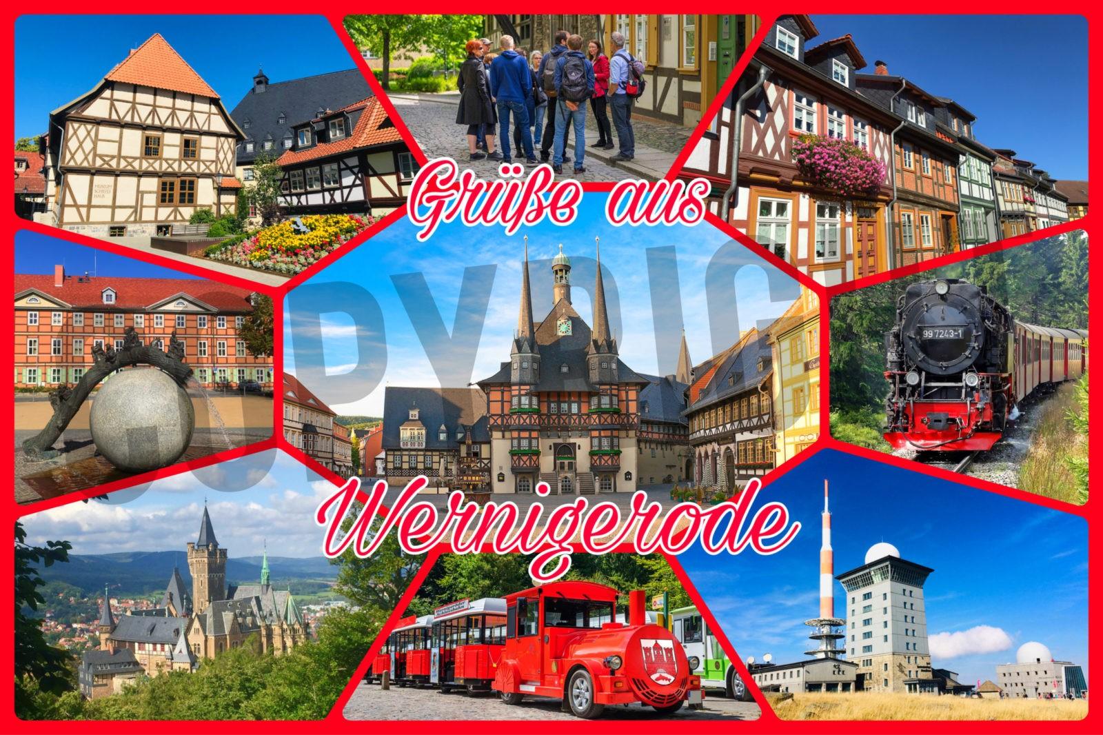 stadtfuehrung-wernigerode stadtfuehrer stadtfuehrungen Postkarte